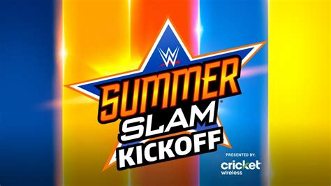 SummerSlam Kickoff to stream live this Sunday at 5 ET/2 PT