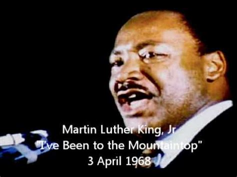 Full MLK: I've Been to the Mountaintop Part 3/3 - YouTube