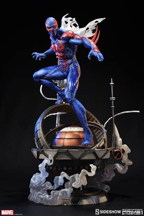 Spider-Man 2099 Statue by Sideshow Collectibles | スパイダーマン